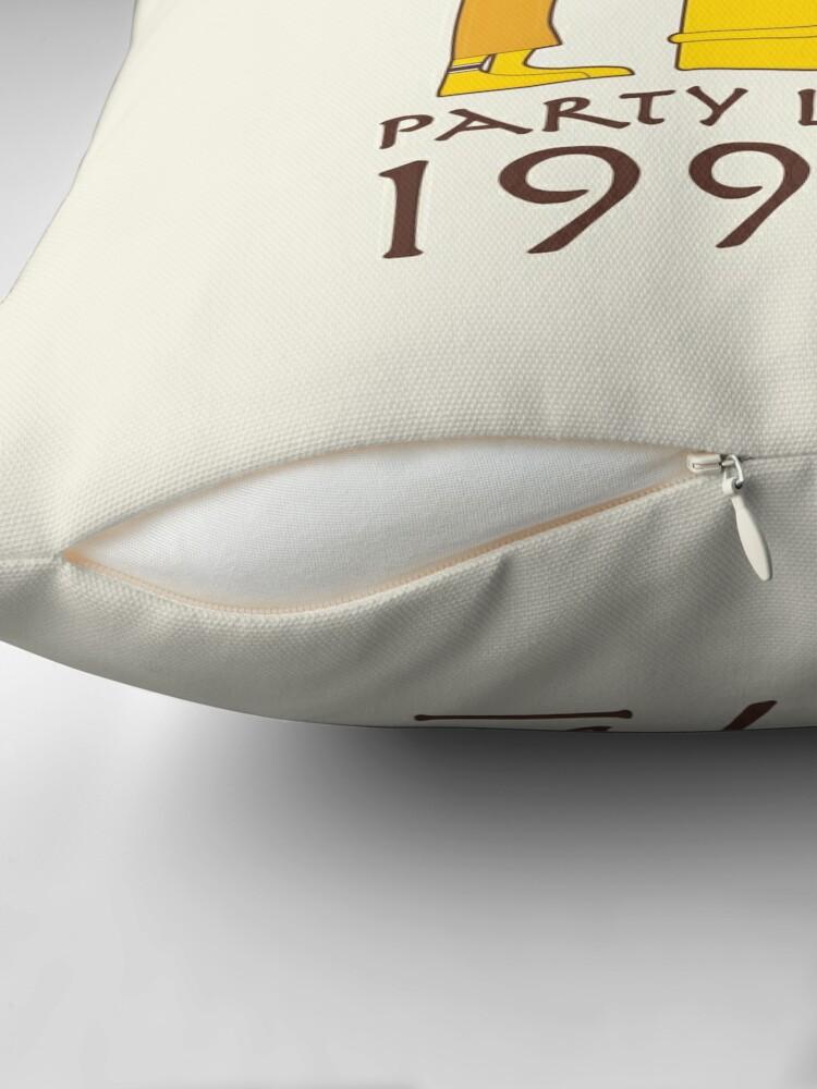 Alternate view of 1999 BC Throw Pillow