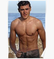 Zac efron posters redbubble zac efron poster stopboris Image collections