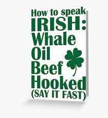 Speak irish greeting cards redbubble how to speak irish greeting card m4hsunfo