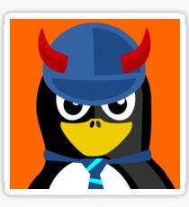 Pinguin Devil  Sticker