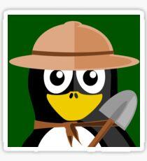 Pinguin garden  Sticker