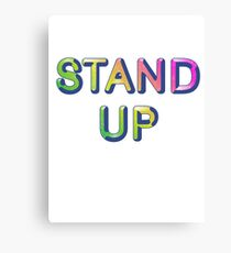 Stand Up Canvas Print