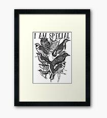 I Am Special - Birds Framed Print