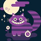 Cute mad cat by Paula García