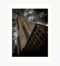 Lámina artística En las calles de Nueva York | NYC, Nueva York, Manhattan, Empire State Building