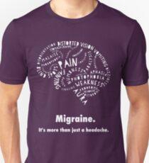 Migraine Brain Slim Fit T-Shirt