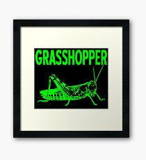 GRASSHOPPER-2 Framed Print