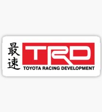 Toyota Racing Developments JDM Classic Sticker