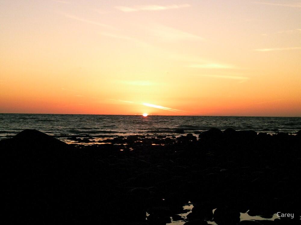 September Sunset by Carey