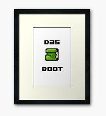 Mario Boot Framed Print
