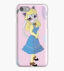 Nyanko Alice in Wonderland iPhone Case/Skin