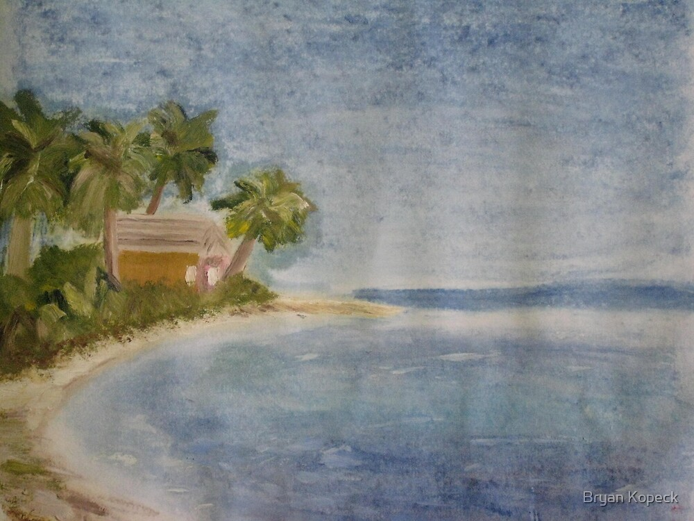 Beach Hut by Bryan Kopeck