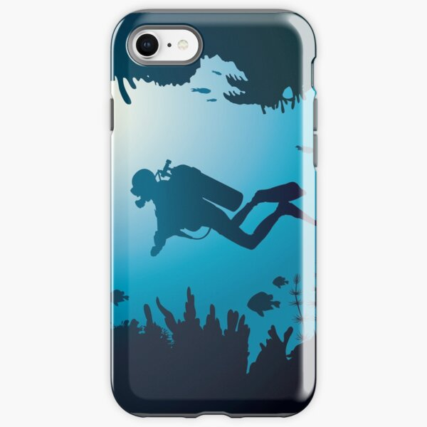 Underwater World - Scuba Diver iPhone Tough Case