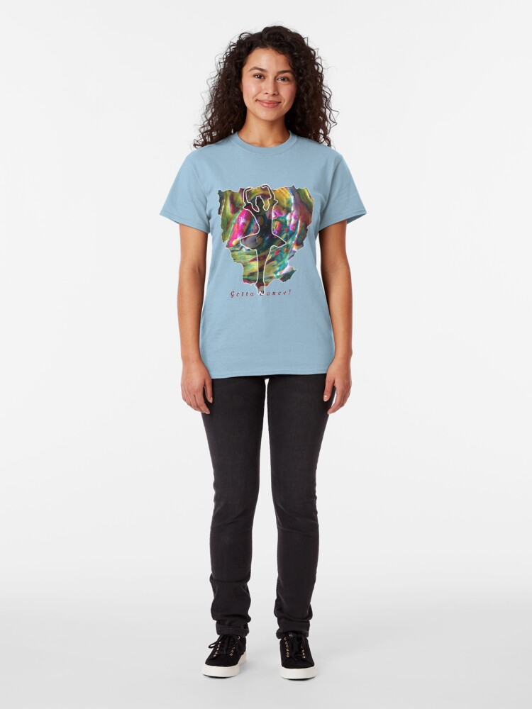 Alternate view of JUST DANCE COLOURFUL BALLERINA Classic T-Shirt