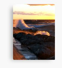 Gale Warning Canvas Print