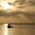 Out to sea by Grahame Clark