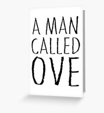 A man called Ove Greeting Card