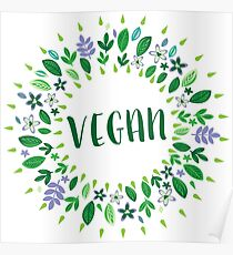 Vegan Quotes Endearing Vegan Quotes Posters  Redbubble