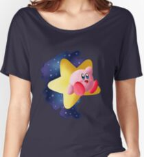 Star Gazing Kirby Women's Relaxed Fit T-Shirt