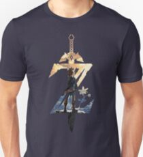 Breath Of The Wild Z Link Cover Unisex T-Shirt
