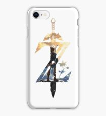 Breath Of The Wild Z Link Cover iPhone Case/Skin