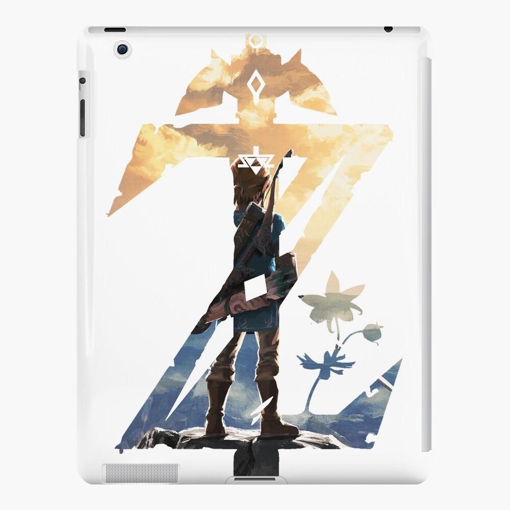 Breath Of The Wild Z Cubierta de enlace Funda y vinilo para iPad