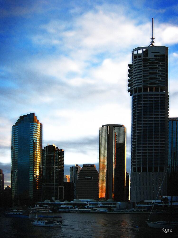 Sunset city by Kyra  Webb