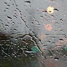 A rainy car ride by Grahame Clark