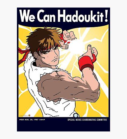 We Can Hadoukit Photographic Print
