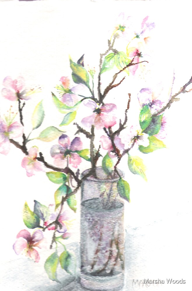 Blossoms by Marsha Woods