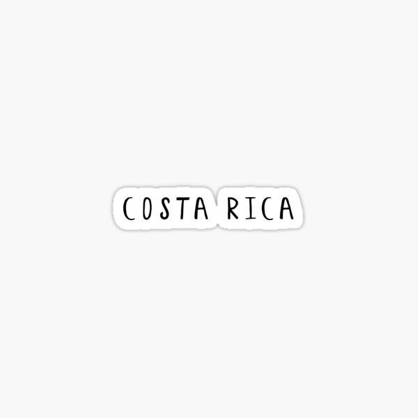 Costa Rica Pegatina