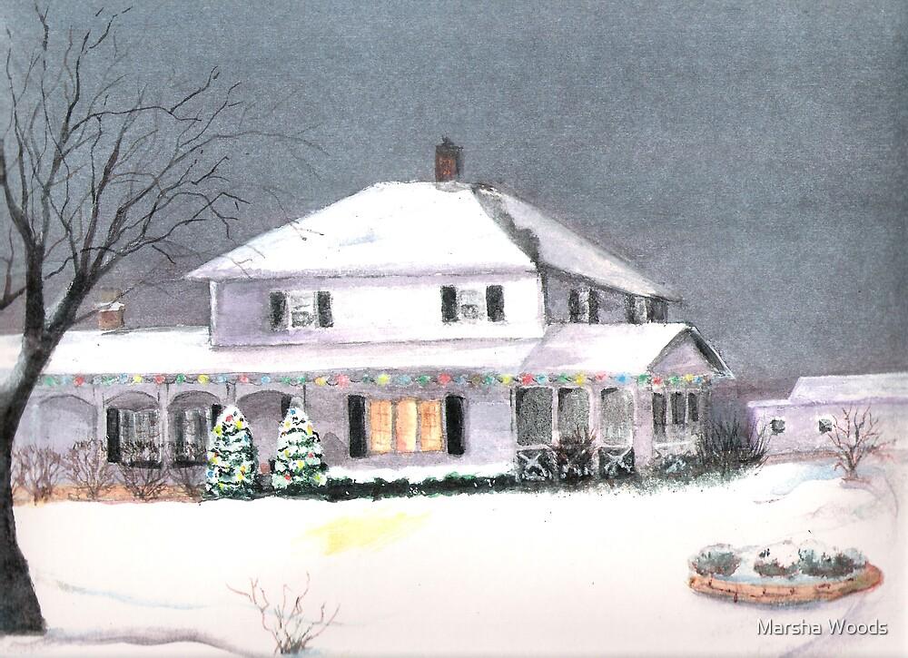 Holiday Homestead by Marsha Woods