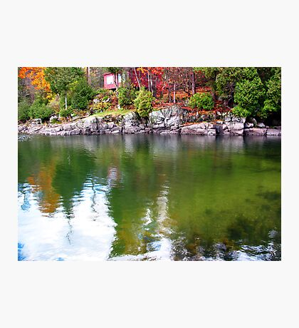 Rideau Canal Photographic Print