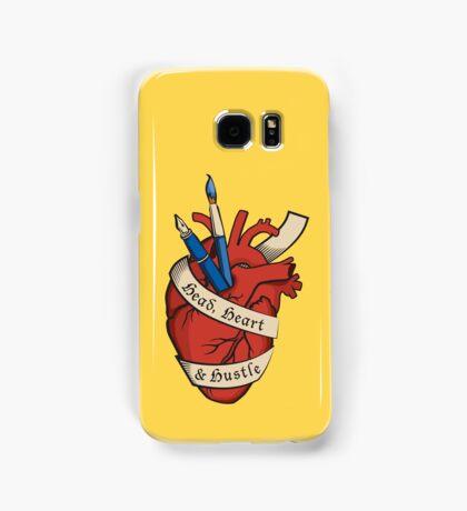 Head, Heart & Hustle Samsung Galaxy Case/Skin