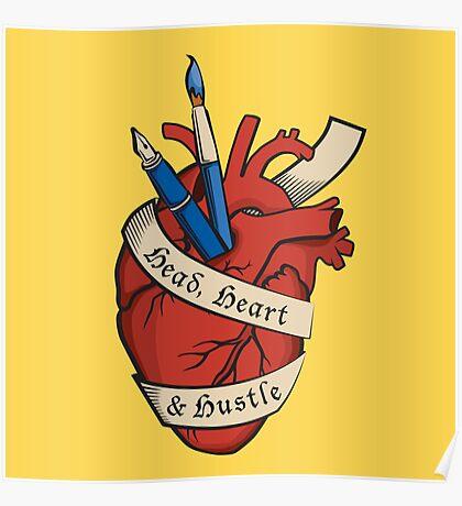 Head, Heart & Hustle Poster