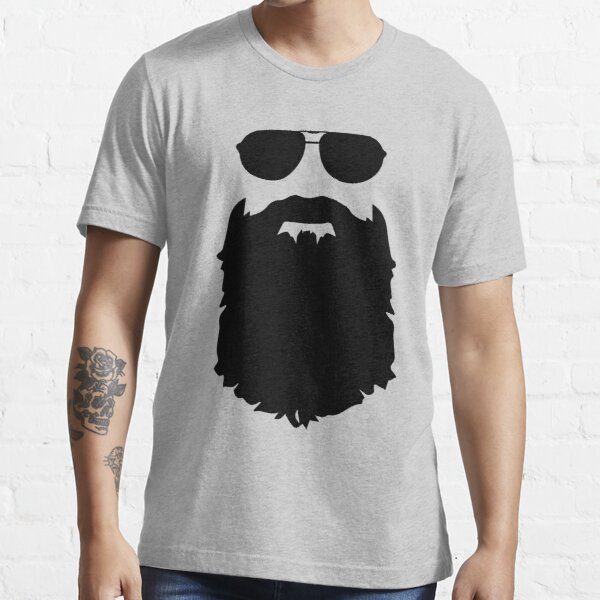 Beard glasses Essential T-Shirt
