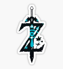 Breath Of The Wild Sheikah Slate Z Logo Initial Sticker