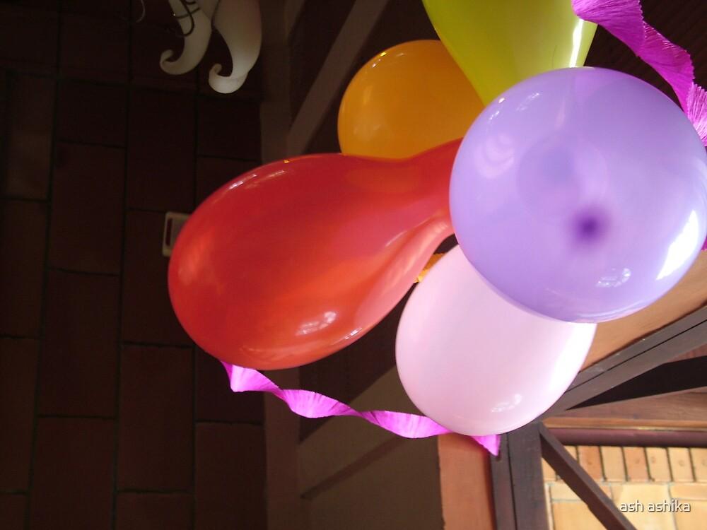 balloons by ash ashika