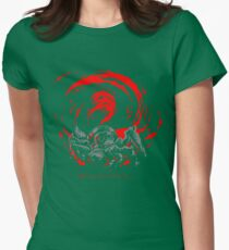 ... I'm... H... A... P... P... Y... Giygas Tee Womens Fitted T-Shirt