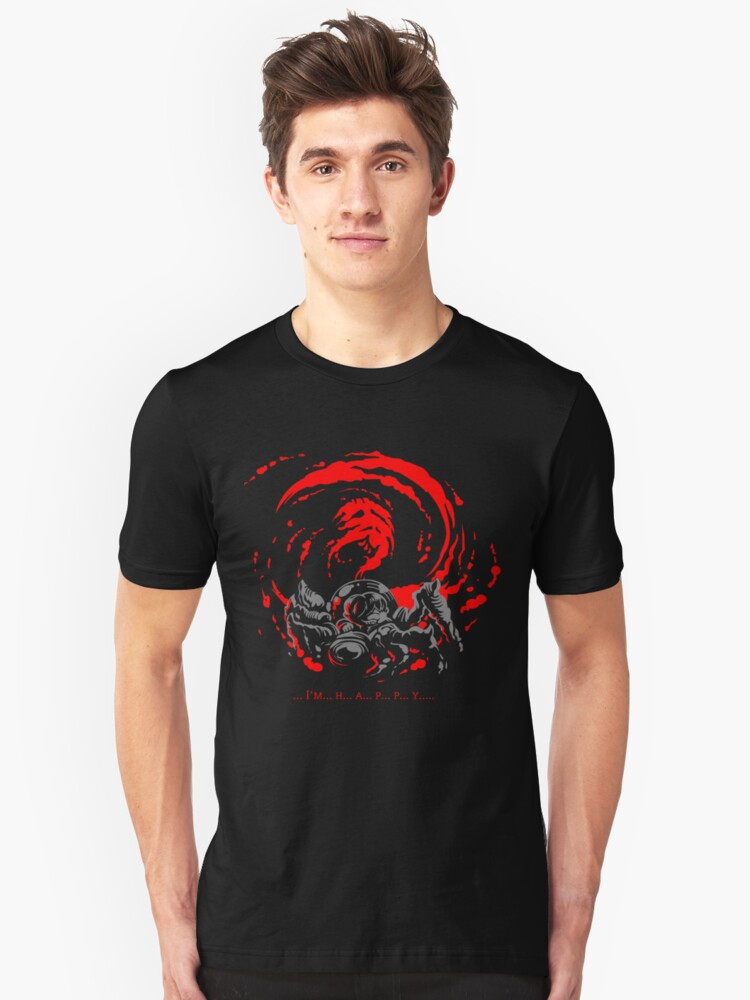 ... I'm... H... A... P... P... Y... Giygas Tee Unisex T-Shirt Front