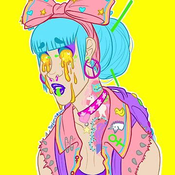 Soft grunge tears by Mobsterqueen