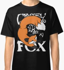 Crazy Like A Fox (Orange) Classic T-Shirt