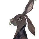 WILD LIFE HARE h3316 by Hares & Critters