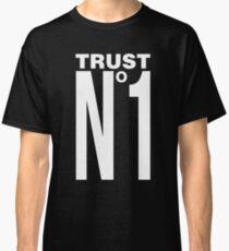 TRUST NO ONE - version 2 - white Classic T-Shirt