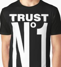 TRUST NO ONE - version 2 - white Graphic T-Shirt