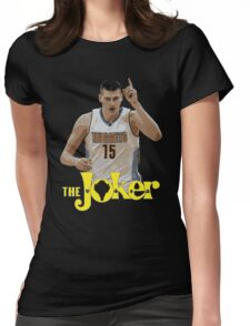The Joker Womens Fitted T-Shirt