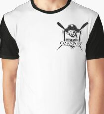 Wivenhoe Corsairs Logo for light backgrounds Graphic T-Shirt