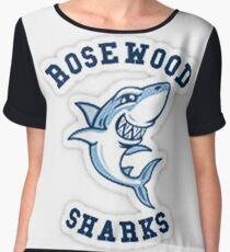 Rosewood Sharks Chiffon Top