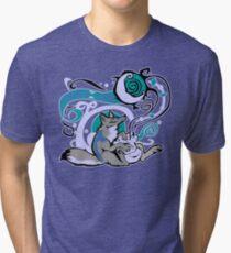 Bag of Tricks (Night) Tri-blend T-Shirt