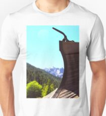 Snow Plow and Castle Crags T-Shirt